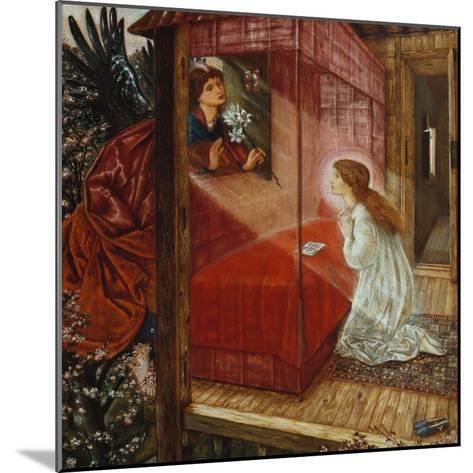 The Annunciation-Edward Burne-Jones-Mounted Giclee Print