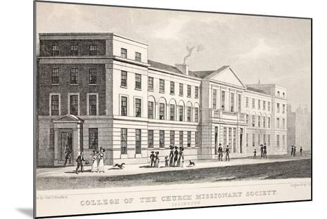College of the Church Missionary Society-Thomas Hosmer Shepherd-Mounted Giclee Print