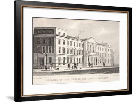 College of the Church Missionary Society-Thomas Hosmer Shepherd-Framed Art Print