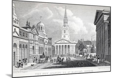 The New Opening of St Martin's Church-Thomas Hosmer Shepherd-Mounted Giclee Print