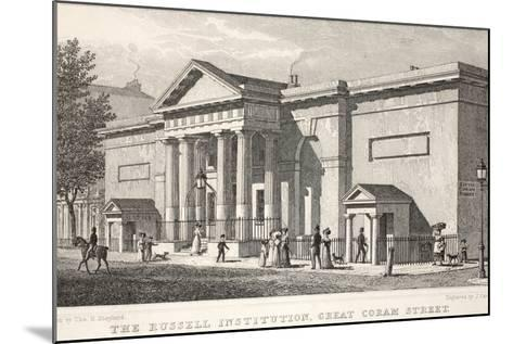 The Russell Institution-Thomas Hosmer Shepherd-Mounted Giclee Print
