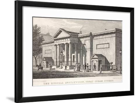 The Russell Institution-Thomas Hosmer Shepherd-Framed Art Print