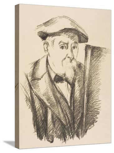 Self-Portrait, 1896-97-Paul C?zanne-Stretched Canvas Print