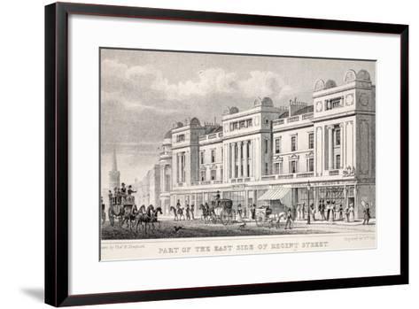 Part of the East Side of Regent Street-Thomas Hosmer Shepherd-Framed Art Print