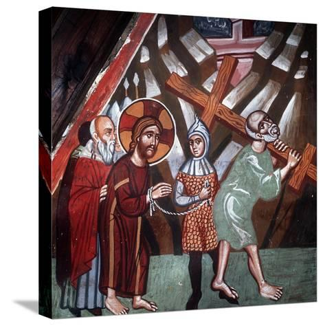 Simon Carrying the Cross, 1494-Philippos Goul-Stretched Canvas Print