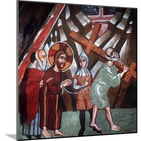 Simon Carrying the Cross, 1494-Philippos Goul-Mounted Giclee Print