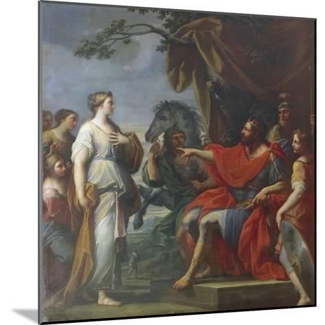 Cloelia and Lars Porsena-Placido Costanzi-Mounted Giclee Print