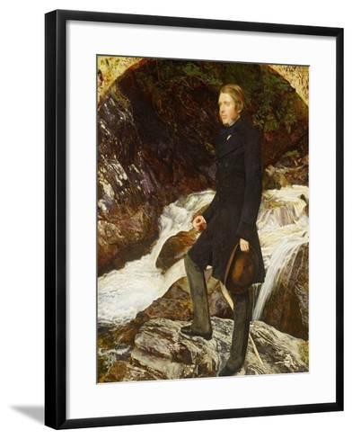 John Ruskin, 1854-John Everett Millais-Framed Art Print