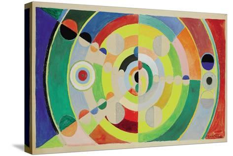 Relief-Disques, 1936-Robert Delaunay-Stretched Canvas Print