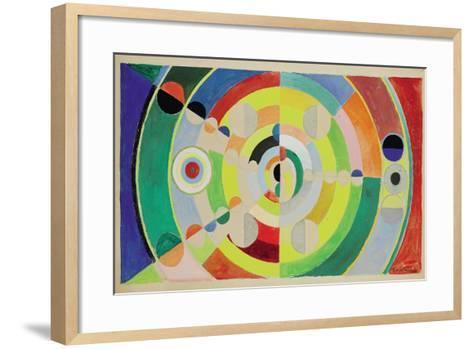 Relief-Disques, 1936-Robert Delaunay-Framed Art Print
