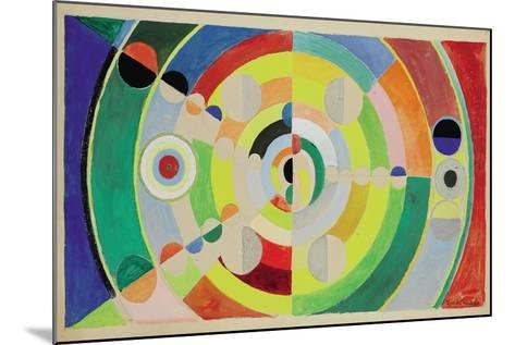 Relief-Disques, 1936-Robert Delaunay-Mounted Giclee Print