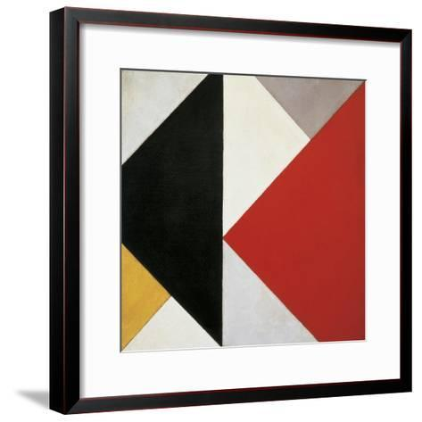 Counter-Composition, 1925-26-Theo Van Doesburg-Framed Art Print