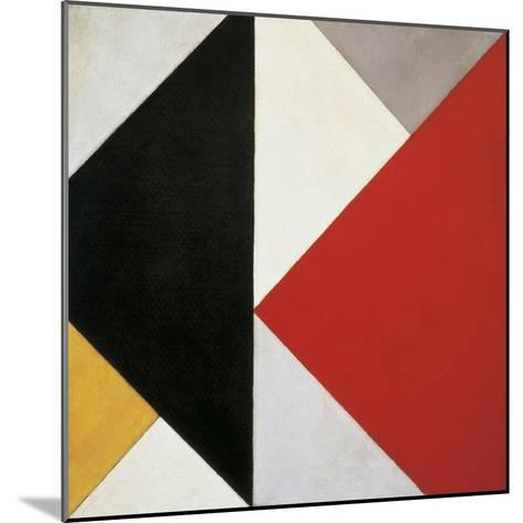 Counter-Composition, 1925-26-Theo Van Doesburg-Mounted Giclee Print