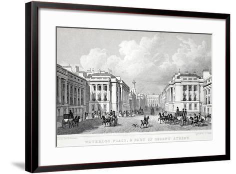 Waterloo Place-Thomas Hosmer Shepherd-Framed Art Print
