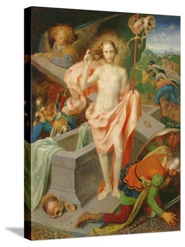 The Resurrection-Theodor Baierl-Stretched Canvas Print