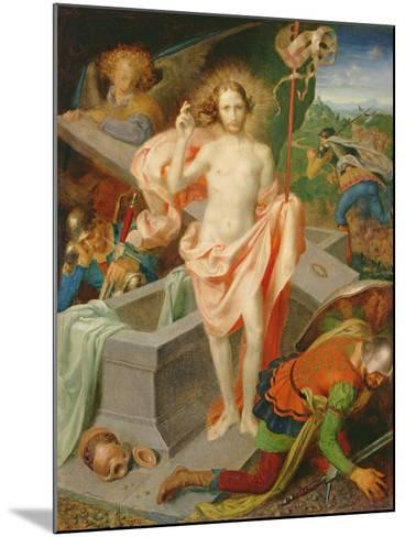 The Resurrection-Theodor Baierl-Mounted Giclee Print