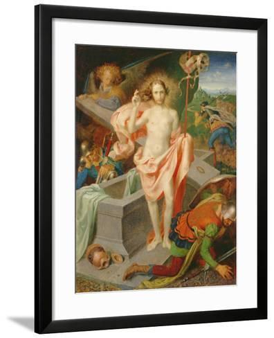 The Resurrection-Theodor Baierl-Framed Art Print
