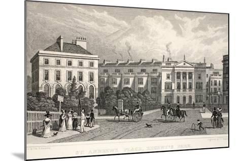 St Andrew's Place-Thomas Hosmer Shepherd-Mounted Giclee Print