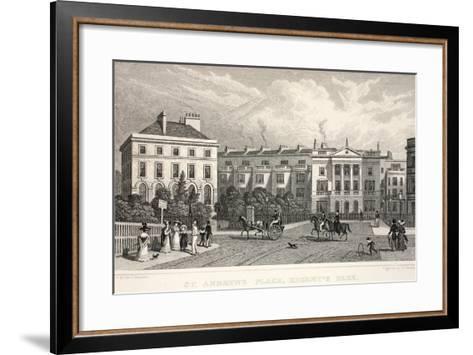 St Andrew's Place-Thomas Hosmer Shepherd-Framed Art Print