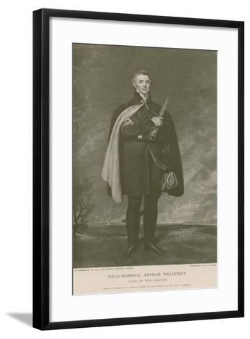 Field-Marshal Arthur Wellesley-Thomas Lawrence-Framed Art Print
