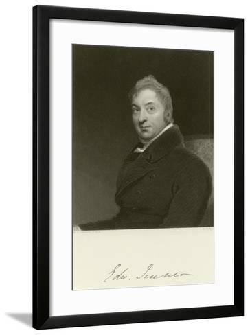 Edward Jenner-Thomas Lawrence-Framed Art Print