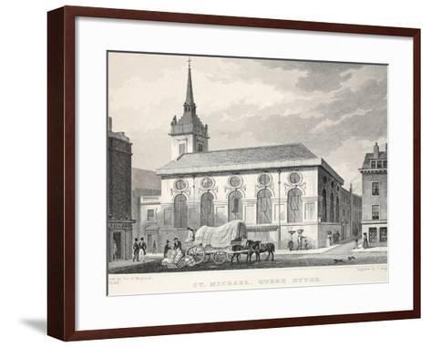 Church of St Michael-Thomas Hosmer Shepherd-Framed Art Print