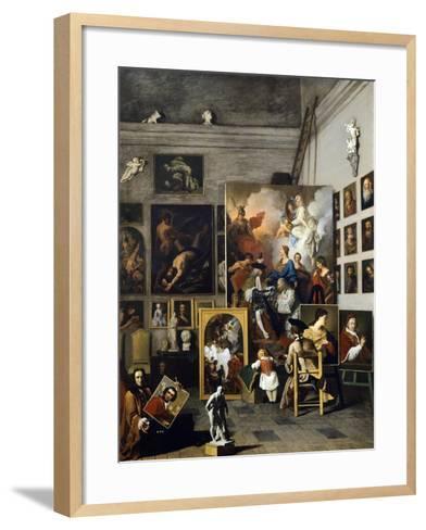 Painter's Studio-Pierre Subleyras-Framed Art Print