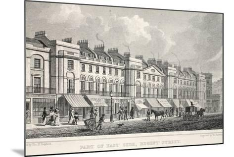 Part of the East Side, Regent Street-Thomas Hosmer Shepherd-Mounted Giclee Print