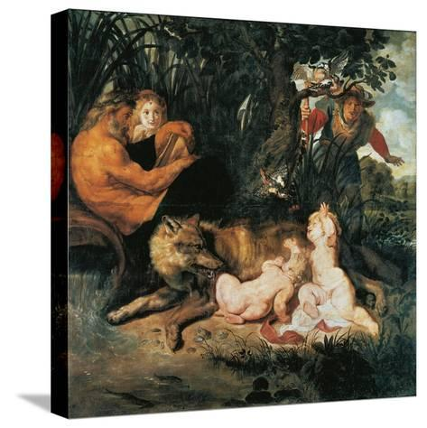 Romulus and Remus-Peter Paul Rubens-Stretched Canvas Print