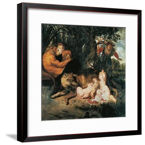 Romulus and Remus-Peter Paul Rubens-Framed Art Print