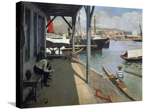 Painting-Ramon Casas-Stretched Canvas Print