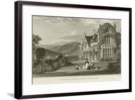 Endsleigh-Thomas Allom-Framed Art Print
