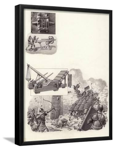 Roman Catapult-Pat Nicolle-Framed Art Print