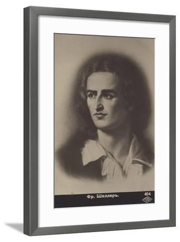 Friedrich Von Schiller--Framed Art Print