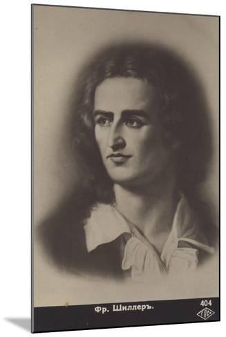 Friedrich Von Schiller--Mounted Giclee Print