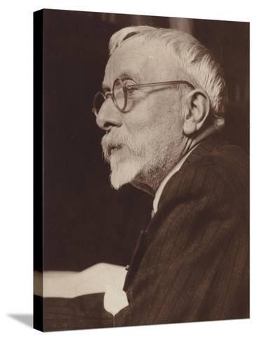 Portrait of Gabriel Pierne--Stretched Canvas Print