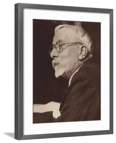 Portrait of Gabriel Pierne--Framed Art Print