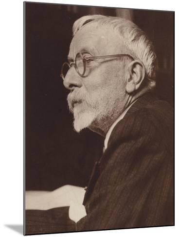 Portrait of Gabriel Pierne--Mounted Photographic Print