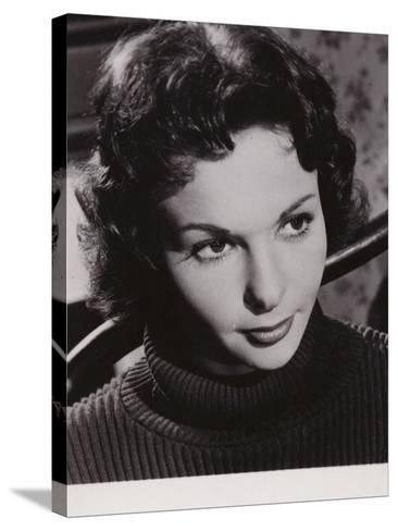 Francoise Arnoul, French Actress and Film Star--Stretched Canvas Print