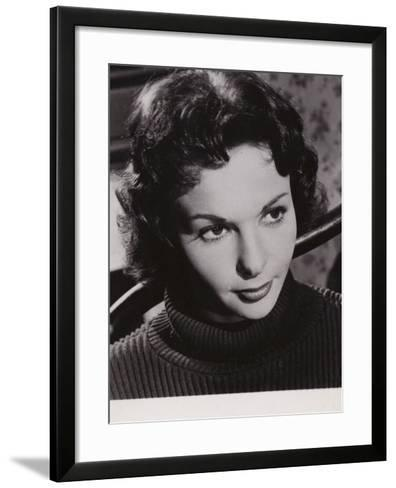 Francoise Arnoul, French Actress and Film Star--Framed Art Print