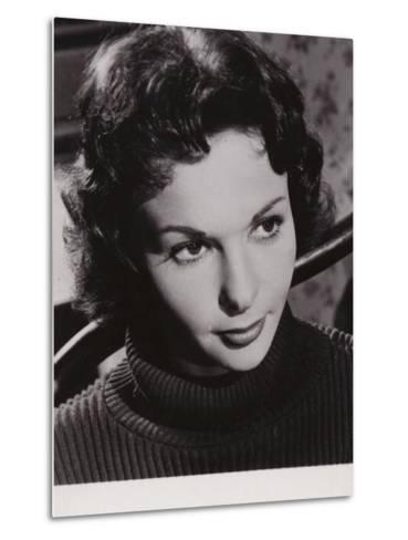 Francoise Arnoul, French Actress and Film Star--Metal Print
