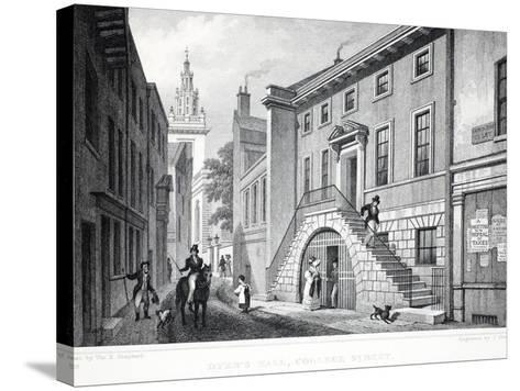 Dyer's Hall-Thomas Hosmer Shepherd-Stretched Canvas Print