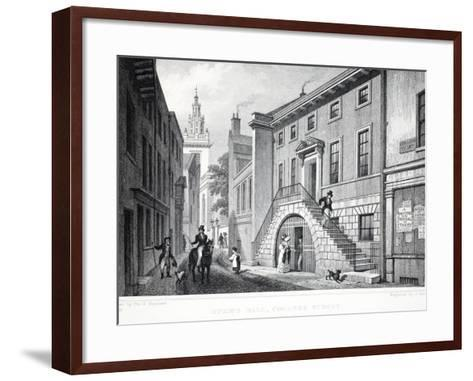 Dyer's Hall-Thomas Hosmer Shepherd-Framed Art Print