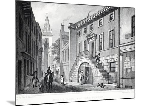 Dyer's Hall-Thomas Hosmer Shepherd-Mounted Giclee Print