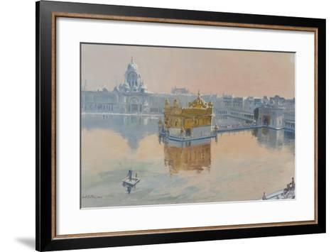 Golden Temple, Amritsar, 2013-Tim Scott Bolton-Framed Art Print