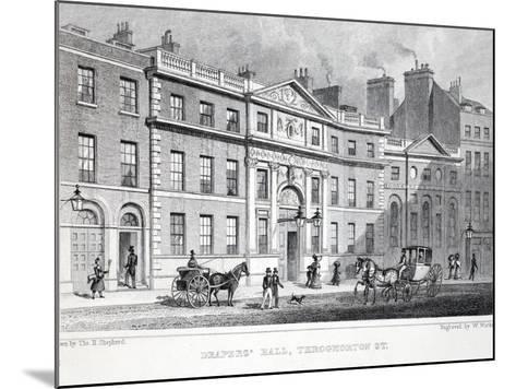 Draper's Hall-Thomas Hosmer Shepherd-Mounted Giclee Print