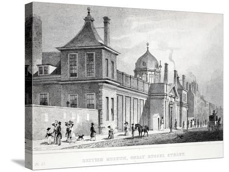 British Museum, Great Russell Street-Thomas Hosmer Shepherd-Stretched Canvas Print