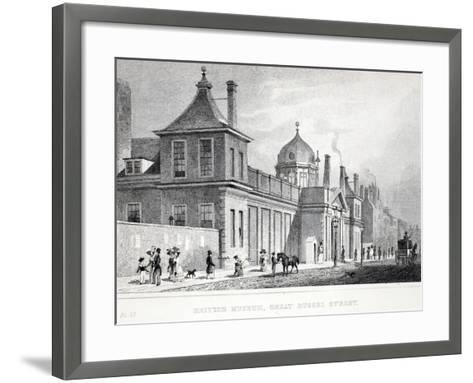 British Museum, Great Russell Street-Thomas Hosmer Shepherd-Framed Art Print