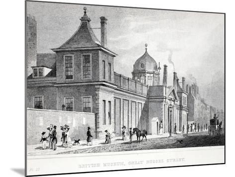 British Museum, Great Russell Street-Thomas Hosmer Shepherd-Mounted Giclee Print