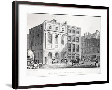 Town Hall-Thomas Hosmer Shepherd-Framed Art Print